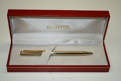 SHEAFFER U.S.A. GOLD ELECTROPLATED Bolígrafo