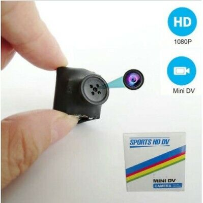 SQ11 HD 1080P Camera Camcorder Hidden Video Recorder Spy Cam DVR Tiny Button DV