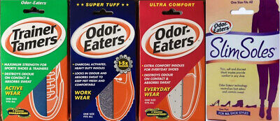 Odor-Eaters Super Tuff, Trainer Tamers, Ultra Comfort,Slim Soles