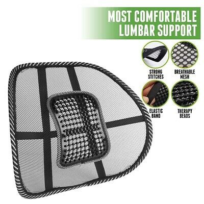 1Pc Adjustable Mesh Lumbar Back Brace Cushion Support for Office Car Chair Seat