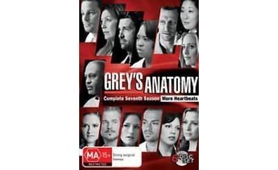 Grey's Anatomy Season 7 Dvd: Excellent Condition: Great Price!