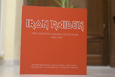 Iron Maiden - The Complete Albums Collection 1990-1998 BOX ONLY (NO VINYLS)