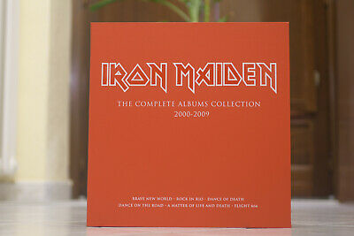 Iron Maiden - The Complete Albums Collection 2000-2009 BOX ONLY (NO VINYLS)