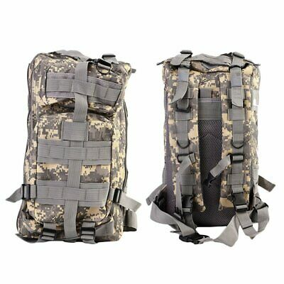 30L Military Tactical Army Backpack Rucksack Camping Hiking Trekking Bag