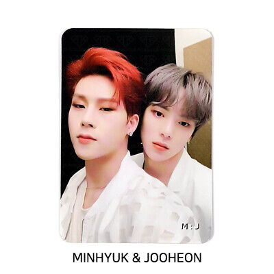 MONSTA X - 2nd Album Take.2 'We Are Here' Official Photocard - UNIT M:J
