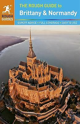 Rough Guide to Brittany and Normandy-ExLibrary
