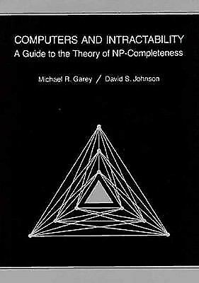 Computers and Intractability : A Guide to the Theo