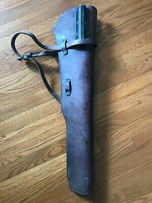 Original WW2 M1 Garand Rifle Scabbard with Strap US BOYT 1942