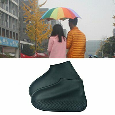 Uniesex Waterproof Shoes Raincoat Reusable Silicone Slip-resistant Boots Cover S