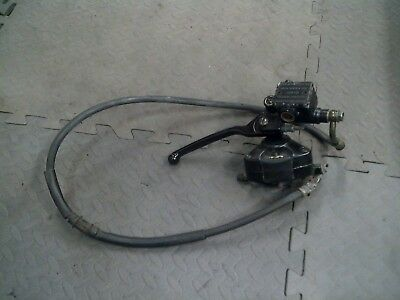 Piaggio ZIP 100 - Front Master Cylinder With Hose, Pads and Caliper (USED) 2006