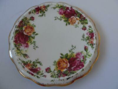 Royal Albert Old Country Roses Tea Pot Stand 1St 1962 England