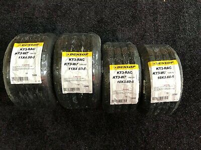 Honda cadet wet Dunlop Tyres / New In Wrapping