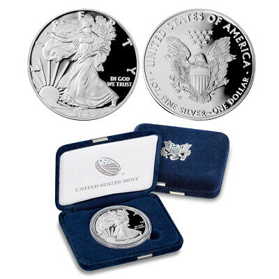 2019-W  American Proof Silver Eagle 1 oz Coin (IN OGP)