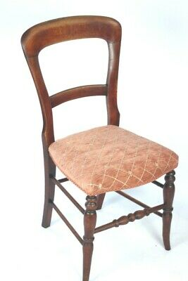 Antique Mahogany Balloon Back Chairs - FREE Shipping [5206]