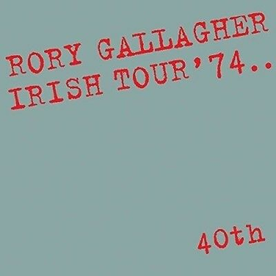 RORY GALLAGHER - IRISH TOUR '74 - NEW and SEALED CD ALBUM