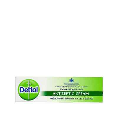 Dettol Antiseptic Cream Moisturising Help Prevent Infection/cuts/first aid - 30g