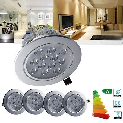 1/2/5PCS 12W LED Recessed Ceiling Lamp Lights Bulbs Spotlight Tilt Cool White AU