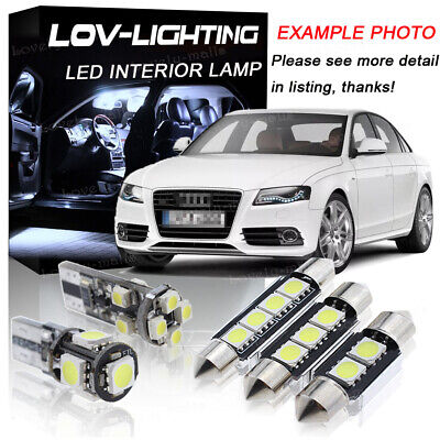 Led Smd Bulbs Xenon White Interior