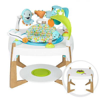 Evenflo ExerSaucer 2-in-1 Activity Center + Art Table * Gleeful Sea * NEW