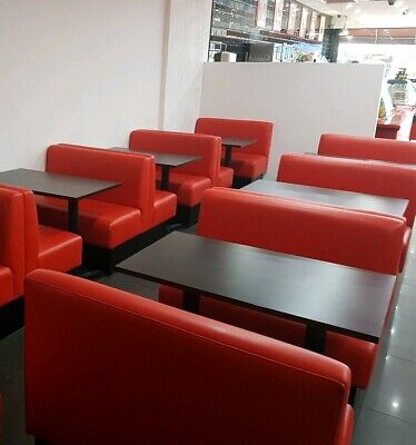 bar pub restaurant  fixed bench banquettes booth seating,  made to measure