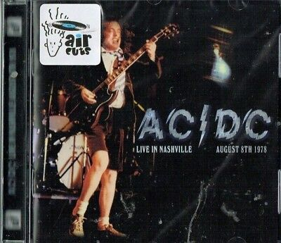 AC/DC - Live in Nashville August 8th 1978 ( Brand new & sealed)