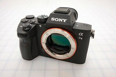 Sony Alpha A7 III 24.2MP + EXTRAS - Body Only - EXCELLENT cond.
