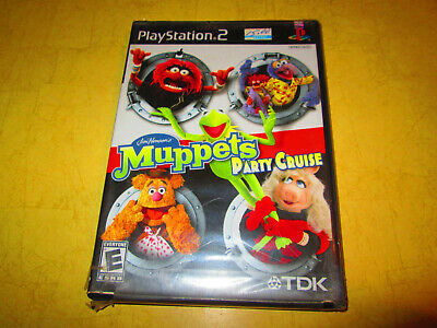 NEW PS 2 GAME MUPPETS PARTY CRUISE  read description before buying