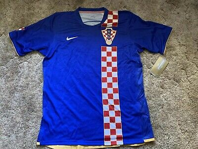 5bbbccc81 CROATIA MEN S NATIONAL Team Soccer Jersey Nike Size Large NWT ...