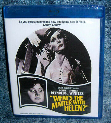 New Scream Factory Debbie Reynolds What's The Matter With Helen Blu Ray 1971
