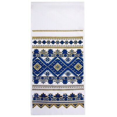 Ukrainian Rushnyk Traditional Folk Towel Wedding Ritual Cloth Rushnik 14x59""