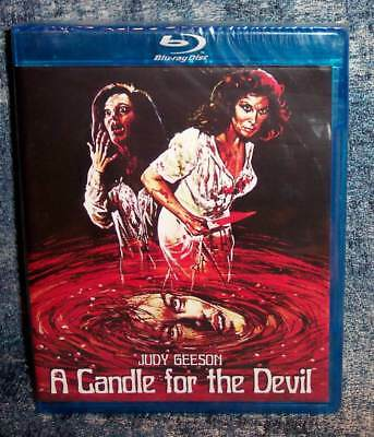New Rare Oop Scorpion Judy Geeson A Candle For The Devil Horror Movie Blu Ray