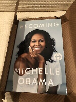 Signed Becoming - Michelle Obama - Autographed Book - Last One