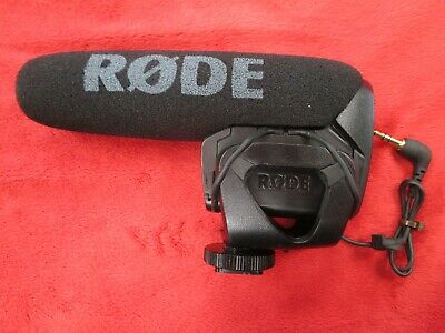 Rode VideoMic Pro Shotgun On-Device Wired Standard Professional Microphone Mic
