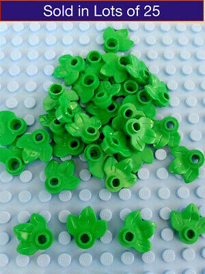 LEGO Flowers x25 plant red blue green yellow white minecraft
