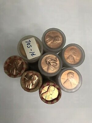 8 Rolls Owb Of 1970-S Unsearched Uncirculated Lincoln Memorial Cents