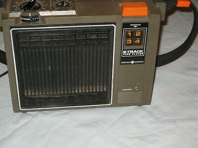 G.E. Vintage 8 Track Tape Player   1ndr5k1thy