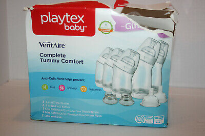 Playtex Baby Vent Aire Anti Colic Complete Tummy Comfort - 5pk