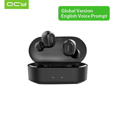 QCY T2C Wireless Headsets Earbuds TWS Bluetooth 5.0 Stereo Earphone for iphone