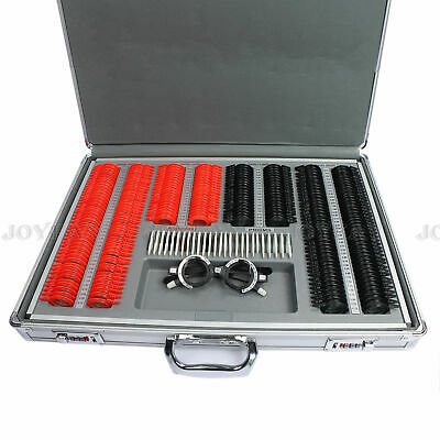 266 pcs Optical Trial Lens Set Plastic Rim Aluminum Case + 1 Free Trial Frame