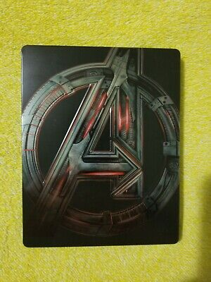 Avengers: Age of Ultron 2 Disc Set (Blu-ray, 3D) Best Buy Exclusive Steelbook