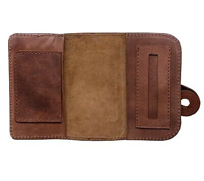 Leather Tobacco Pouch Buffalo Hide Vintage Handmade Leather Sydney Australia