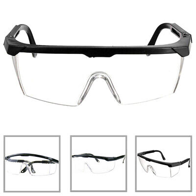 1PC Eye Protective Anti-impact Lab Factory Glasses Safety Outdoor Work Goggles