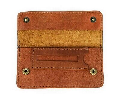 Tobacco Pouch Full Grain Buffalo Hide High Quality Vintage Leather Sydney