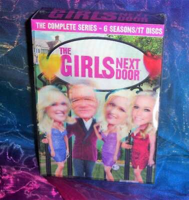New Rare Oop The Girls Next Door Seasons 1-6 Complete Series Tv 17 Disc Dvd Set