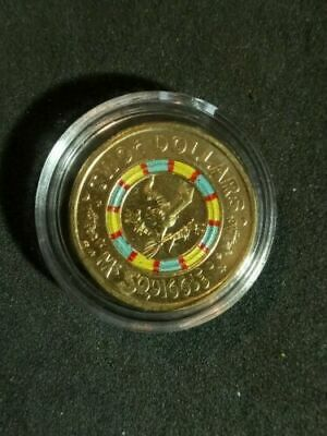 $2 Mr Squiggle coin 2019 From Mint Bag In A Coin Capsule ///