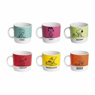 EXCELSA Peanut 6 Piece Coffee Mug Set
