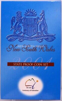 2001 Federation Three Coin Proof Set NSW