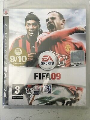 FIFA 09 For PlayStation 3 (PS3) New & Sealed - Same Day Dispatch - Free P&P