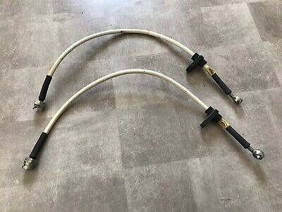 Honda Civic Type R EP3 01-06 HEL Braided Rear Brake Hose / Hoses JDM UK