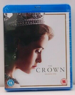 The Crown Complete Season Series 1 One uk region B BLU RAY NEW & SEALED Smith